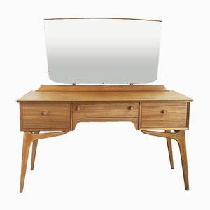 Vintage Pale Dressing Table by Alfred Cox for AC Furniture