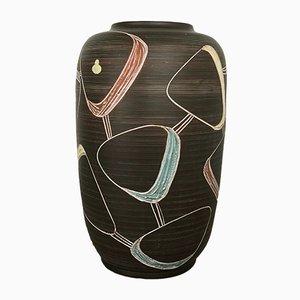 Große Bodenvase aus Keramik von Franz Schwaderlapp, 1950er