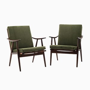 Vintage Armchairs from TON, Set of 2