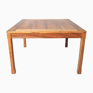 Swedish Rosewood Side Table, 1960s