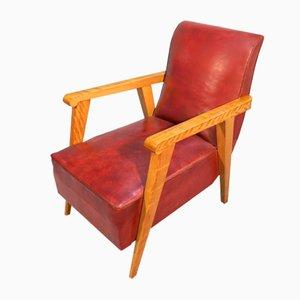 Art Deco Style Armchairs, 1940s, Set of 2