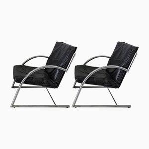 Des Sessel von Gerard van den Berg für Rohé Noordwolde, 1980er, 2er Set