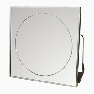Vintage Metal Mirror from Knitter Duro, 1985