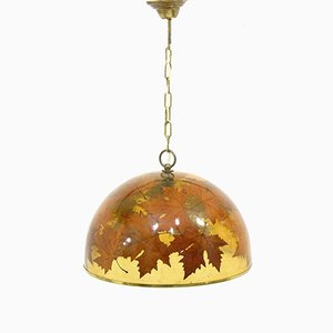 Autumn Leaves Pendant, 1970s