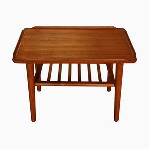 Table Basse Mid-Century en Teck par Georg Jensen pour Kubus, 1960s