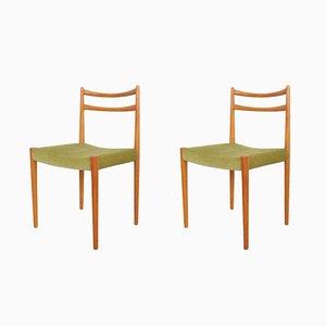 Dänische Mid-Century Stühle, 1960er, 2er Set