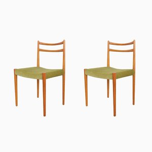 Mid-Century Danish Chairs, 1960s, Set of 2