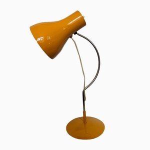 Vintage Yellow Table Lamp by Josef Hurka for Napako, 1960s