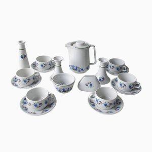 Polish Tea or Coffee Service Set from Zakład Przemysłu Ceramicznego, 1970s