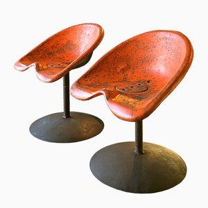 Chaises Baquets Vintage, 1970s, Set de 2
