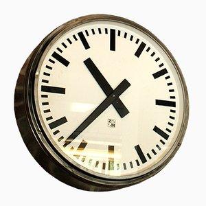 Uhr im Bauhaus-Stil von ZM, 1940er