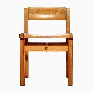 Chaise de Salle à Manger en Pin par Edvin Helseth pour Stange Bruk Bruksbo, 1960s