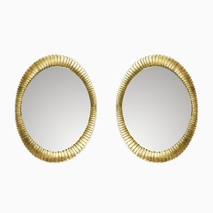 Mid-Century Spanish Mirrors, 1960s, Set of 2