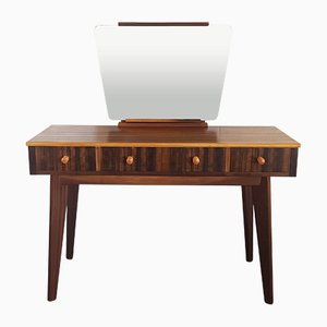 Mid-Century Dressing Table with Mirror by Neil Morris for Morris of Glasgow