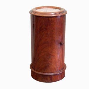 Round Antique Pedestal Table