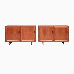MB15 Sideboards by Franco Albini for Poggi, 1957, Set of 2