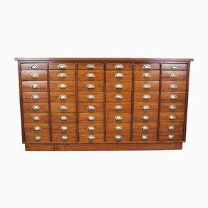 British Mahogany Apothecary Cabinet, 1930s