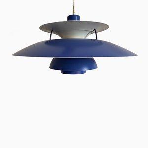Lámpara colgante modelo PH5 de Poul Henningsen para Louis Poulsen, años 70. Juego de 2