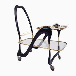 Chariot de Bar Vintage par Cesare Lacca, 1950s