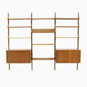 Libreria Royal System vintage in teak di Poul Cadovius per Cado, anni '60