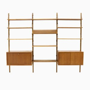 Vintage Royal System Teak Wall Unit by Poul Cadovius for Cado, 1960s