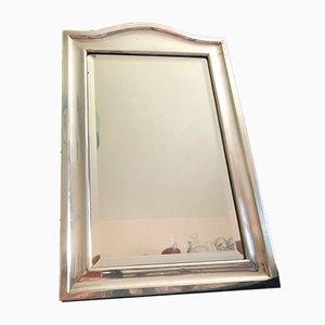 Edwardianischer Spiegel mit silbernem Rahmen von Henry Matthews, 1909