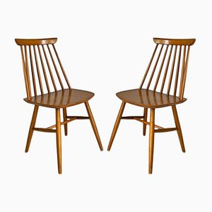 Mid-Century Side Chairs, 1960s, Set of 2