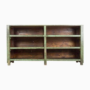 Antique Industrial Workplace Cabinet