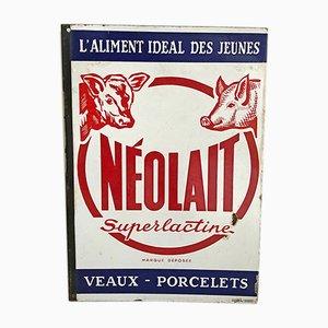 Mid-Century French Superlactine Advertisement