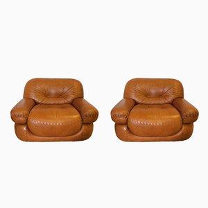 Vintage Sessel von Mobilgirgi, 1970er, 2er Set