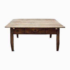 Tavolino da caffè antico, inizio XIX secolo