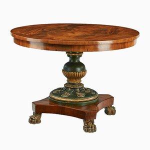 Tavolo da salotto Impero antico