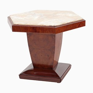 Art Deco Italian Side Table, 1940s
