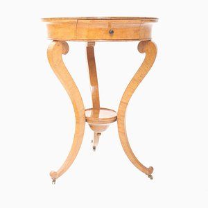 Petite Table d'Appoint Style Charles X, France, 1820s
