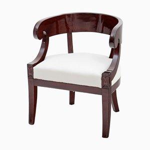Französischer Neoklassizistischer Sessel, 1830er