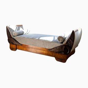 Sofá cama estilo imperial antiguo
