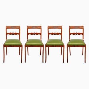 Chaises de Salon Antiques, Allemagne, Set de 4