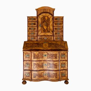 Antique Baroque Secretaire