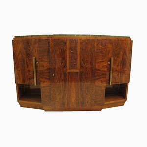 Art Deco Sideboard aus Nussholz