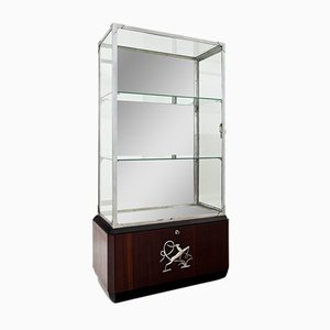 Art Deco Glass Display Cabinet, 1930s