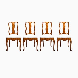 Antique Dutch Side Chairs, Set of 4