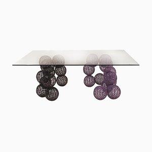 Kugelförmiger italienischer Vintage Tisch von Anacleto Spazzapan