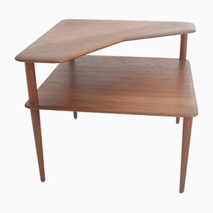 Table Minerva par Peter Hvidt & Orla Molgaard-Nielsen pour France & Son, Danemark, 1950s