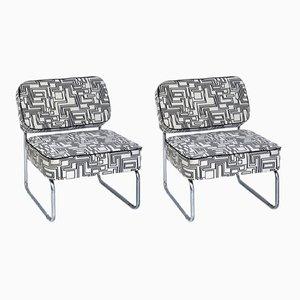 Vintage Bauhaus Sessel, 1960er, 2er Set