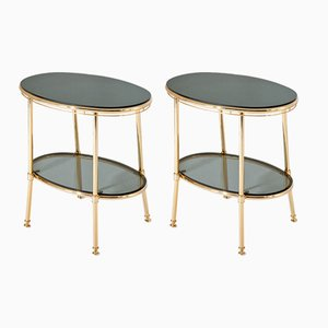 Italian Side Tables, 1970s, Set of 2