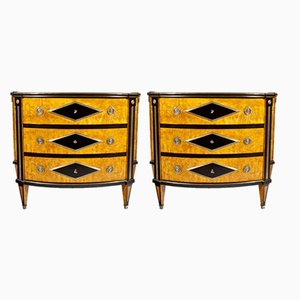 Vintage Commodes, Set of 2
