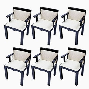 Italian Teatro Dining Chairs by Aldo Rossi, 1983, Set of 6