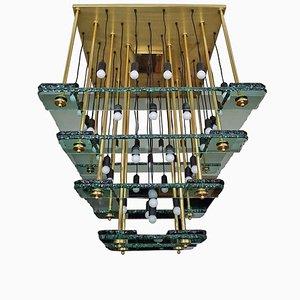 Lámpara de araña vintage grande de Acerbis