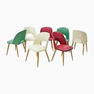 Chaises d'Appoint, Italie, 1960s, Set de 7