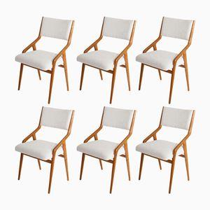 Mid-Century Italian Chairs, Set of 6